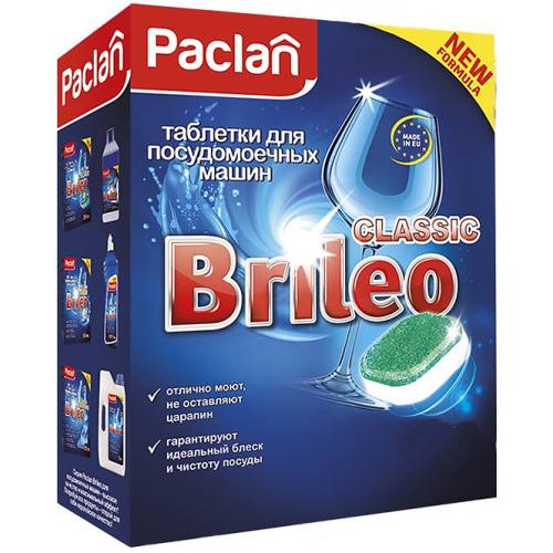 PACLAN Paclan Brileo Таблетки для посудомоечных машин CLASSIC 14 шт
