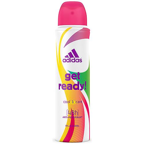 ADIDAS Adidas Get ready! дезодорант- антиперспирант спрей для женщин 150 мл