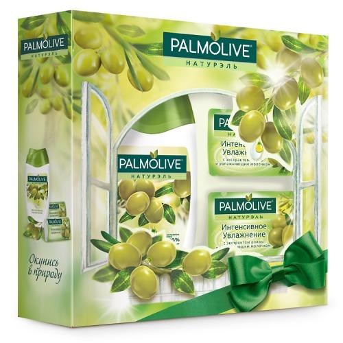 Palmolive Подарочный набор PALMOLIVE Натурэль Интенсивное Увлажнение с экстрактом оливы
