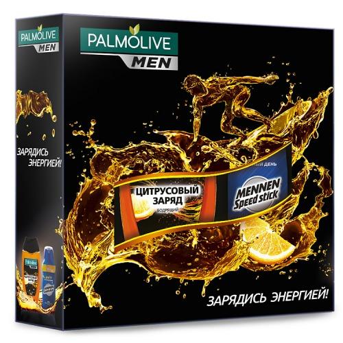 Palmolive Подарочный набор PALMOLIVE MEN Заряд Энергии