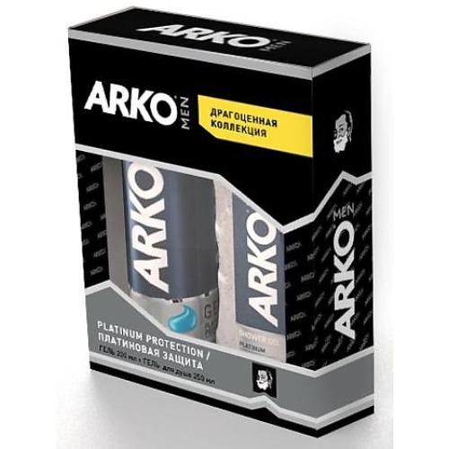 ARKO ARKO PLATINUM ПН Гель для бритья 200мл Гель для душа 250мл