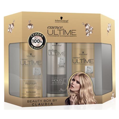 Essence ULTIME ПН 2017 Essence ULTIME OMEGA REPAIR Шампунь для поврежденных волос, лак для волос, бальзам для волос, -100% скидка на бальзам essence