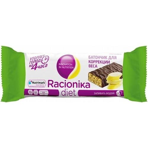 Racionika Racionika Батончик диетический банан 60г