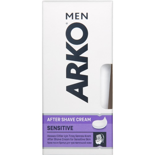 ARKO ARKO SENSITIVE ПН Гель для бритья 200мл Крем после бритья 50мл Бальзам после бритья 150мл Косметичка