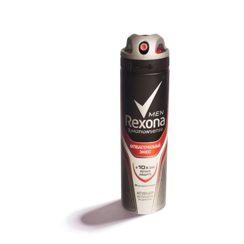 Rexona REXONA Антиперспирант аэрозоль мужской Антибактериальный эффект 150мл