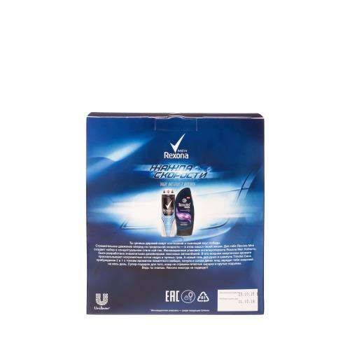 Rexona ПН 15-16 REXONA Мужской Жажда скорости Дезодорант кобальт 150мл TIMOTEI Шампунь-гель для душа 2в1 250мл