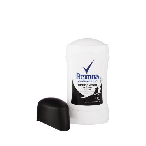 Rexona REXONA Антиперспирант-карандаш женский Невидимая на черном и белом 40мл