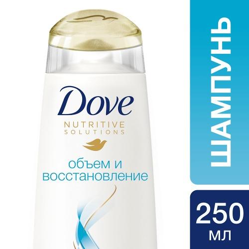 Dove DOVE Hair Therapy Шампунь Объем и восстановление 250мл
