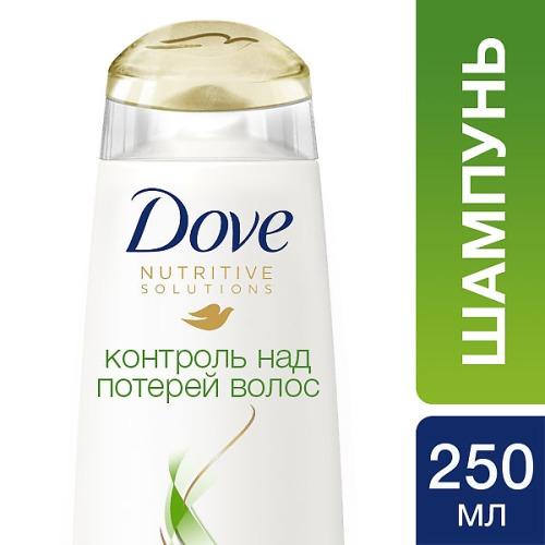 Dove DOVE Шампунь Контроль над потерей волос 250мл