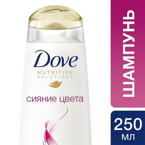 Dove DOVE Шампунь для волос Hair Therapy Сияние цвета 250мл