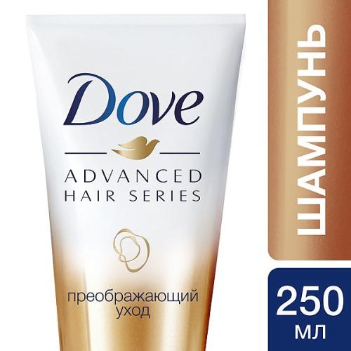 Dove DOVE Шампунь питающий Advanced Hair Series Преображающий уход 250мл