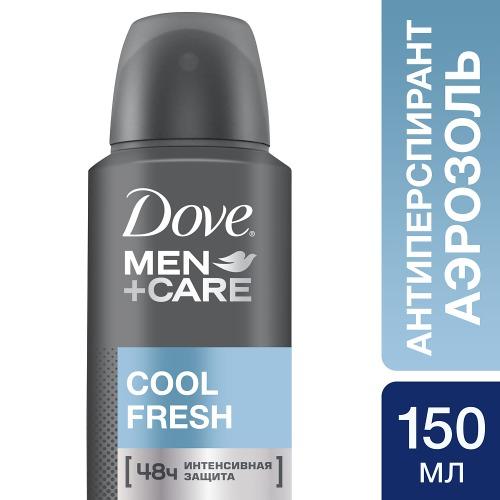 Dove DOVE Дезодорант аэрозоль антиперспирант мужской Прохладная свежесть 150мл
