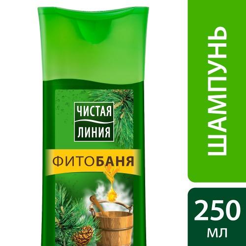 Чистая Линия ЧИСТАЯ ЛИНИЯ Шампунь Фитобаня для всех типов волос 250мл