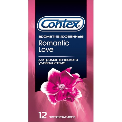 Contex CONTEX Презервативы №12 Romantic Love ароматизированные