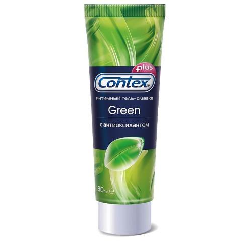 Contex CONTEX Гель-смазка интимный Plus Green с антиоксидантами 30мл