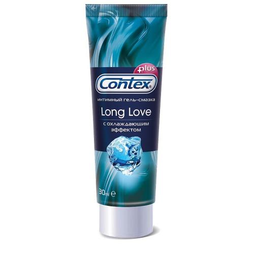 Contex CONTEX Гель-смазка интимный Plus Long Love с охлаждающим эффектом 30мл