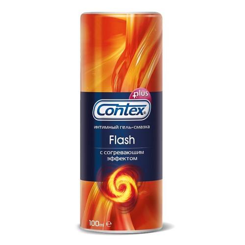 Contex CONTEX Гель-смазка интимный Plus Flash с согревающим эффектом 100мл