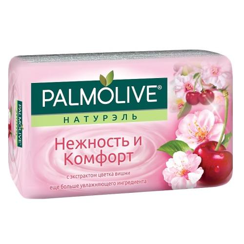 Palmolive ПАЛМОЛИВ Мыло Натурэль Нежность и комфорт Цветок вишни 90г