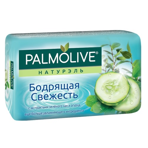 Palmolive ПАЛМОЛИВ Мыло Натурэль Бодрящая свежесть 90г