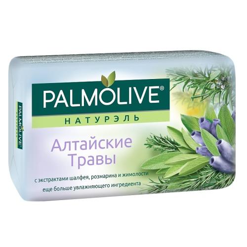 Palmolive ПАЛМОЛИВ Мыло Алтайские травы с экстрактами шалфея розмарина и жимолости 90г