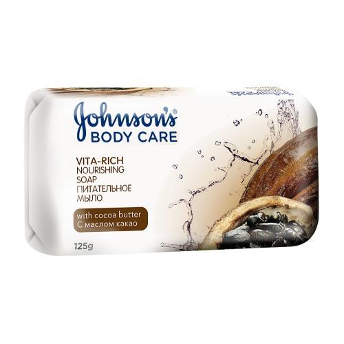 Johnson`s Johnson's Body Care VITA-RICH Питательное мыло с маслом Какао 125г
