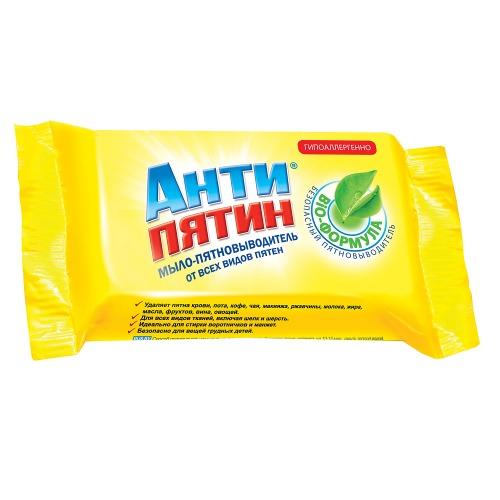 АНТИПЯТИН АНТИПЯТИН Мыло-пятновыводитель от всех видов пятен 90г