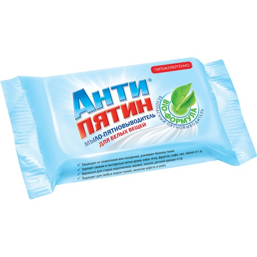 АНТИПЯТИН АНТИПЯТИН Мыло-пятновыводитель для белых вещей 90г