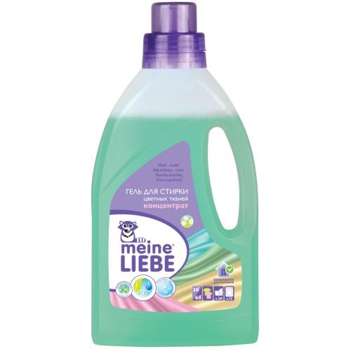 Meine Liebe MEINE LIEBE Гель для стирки цветных тканей концентрат 800мл