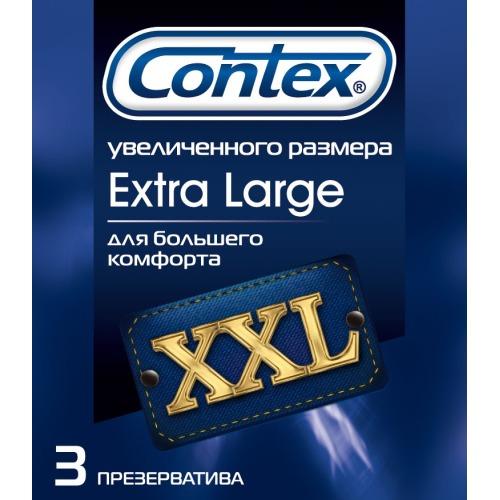 Contex CONTEX Презервативы №3 Extra Large увеличенного размера
