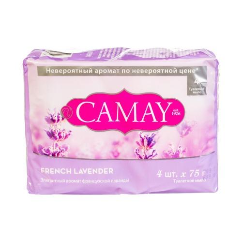 CAMAY CAMAY Мыло твердое Французская лаванда 4х75г